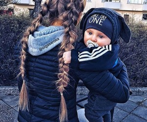 baby, family, and fashion image
