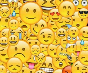 emoji, smiley, and wallpaper image