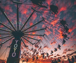 sky, fun, and grunge image