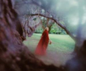 cloak, mysterious, and red image