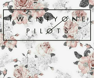 twenty one pilots, wallpaper, and flowers image