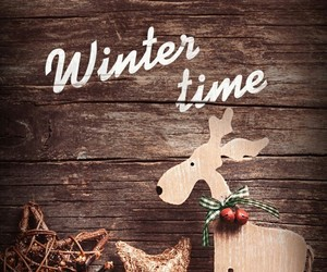 winter, christmas, and time image