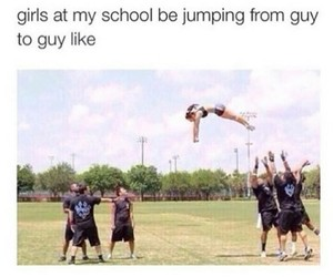 funny, girl, and school image