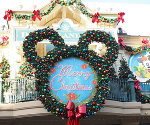 christmas, decoracion, and disney image
