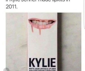 lips, lol, and kylie image