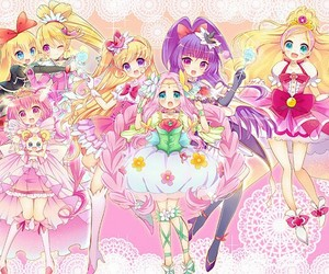 anime girl, beautiful, and pretty cure image