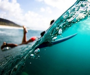 surf, ocean, and waves image