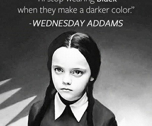 addams family, black and white, and quotes image