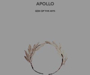 apollo, god, and mythology image