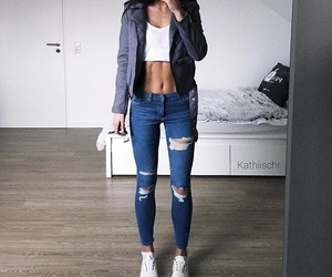 fashion, love, and fitness image