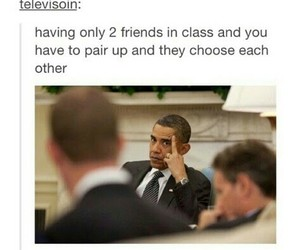 funny, friends, and school image