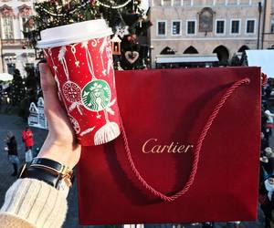 coffee, cartier, and christmas image