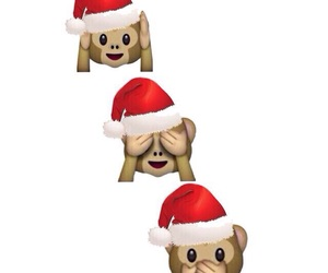 christmas, wallpaper, and monkey image