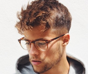 boy, guy, and glasses image