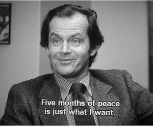 The Shining, quotes, and jack nicholson image