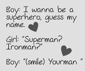 love, boy, and superman image