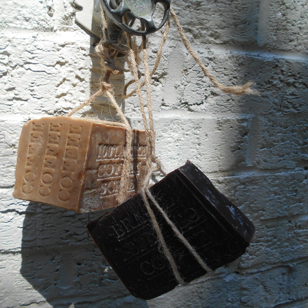 natural soap, handmade soap, and coffee soap image