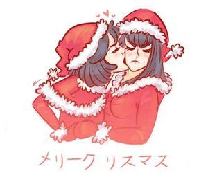 anime, christmas, and incest image