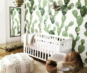 baby, cactus, and room image