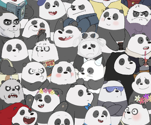 we bare bears, panda, and polar image