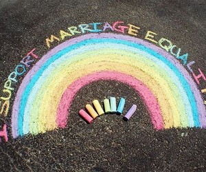 equality, gay, and gay marriage image