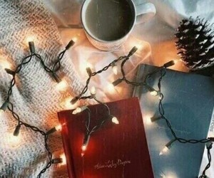 christmas, holidays, and coffee image