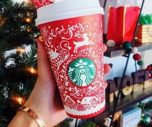 accessories, christmas, and coffee image