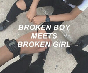 5sos, broken, and boy image