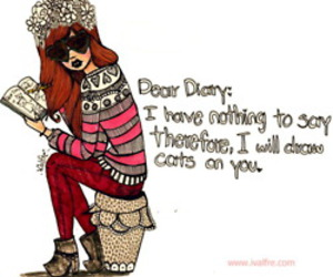 quote, diary, and valfre image
