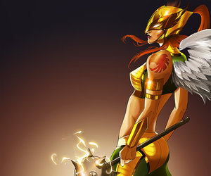 DC and hawkgirl image
