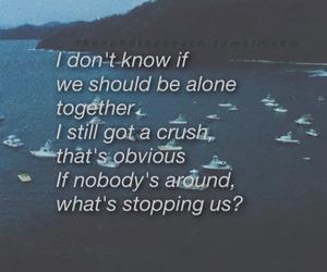 quote, hoodlum, and Lyrics image