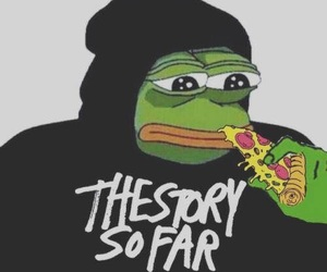 bands, the story so far, and pepe image