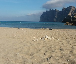 beach, wonderful, and blue image