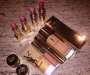 luxury, makeup, and shoes image