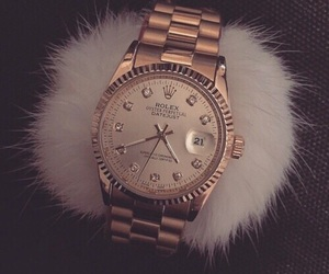 classic, gold, and rolex image