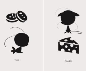tikki, plagg, and ladybug image