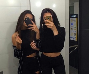 friends, black, and goals image