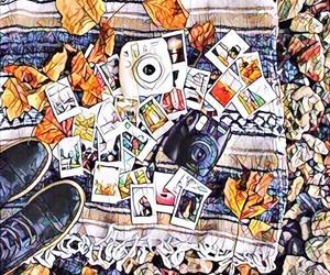 fall and mosaic image