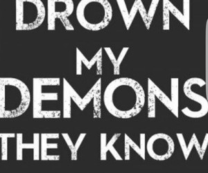 demon, quotes, and bring me the horizon image