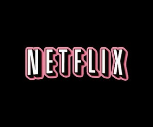 wallpaper, black, and netflix image