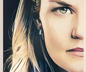 Jennifer Morrison, evil queen, and swanqueen image