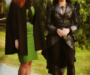 once upon a time, rebecca mader, and lana parrilla image