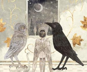 angel, rt0no, and crow image