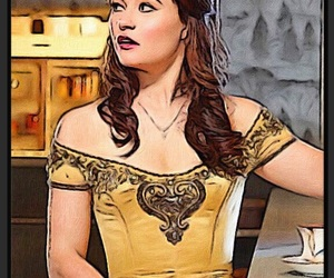 once upon a time, belle, and ️ouat image