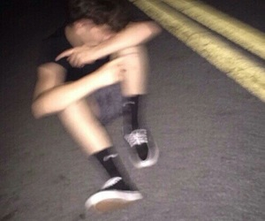 blurry, grunge, and street image