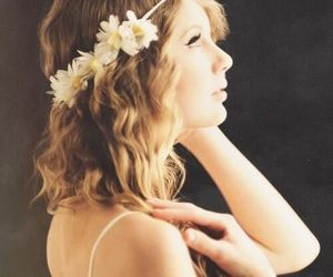 Taylor Swift, taylor, and flowers image