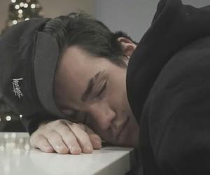 sleep, cute, and aaron carpenter image