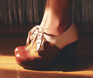 brown, shoes, and want image