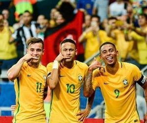 match, brasilien, and neymar image