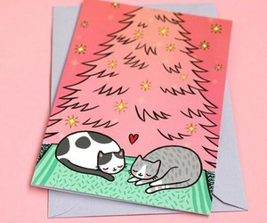 cristmas, diy, and notebook image